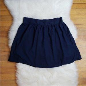 Tommy Hilfiger Navy Blue Skirt XL